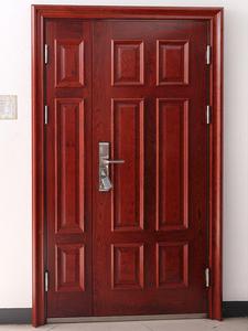 钢木进户门