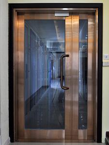 铝合金单元门