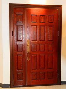 钢木装甲门